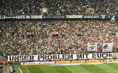 Why are German football fans protesting?